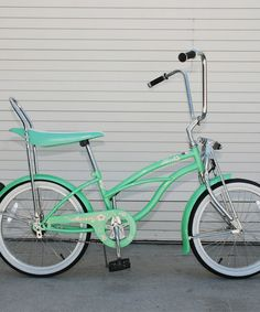 Take a look at this Mint Green Hero Lowrider Cruiser Bike - Girls by Giddy Up Rides on #zulily today!