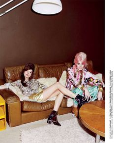 Bubblegum-Haired Shoots - Anna-Maria Nemetz and Ehren Dorsey Star in Bullett Magazine Spring 2012 (GALLERY)