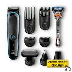 Braun MGK 3080 - Set de afeitado multifunción... #maquina #afeita