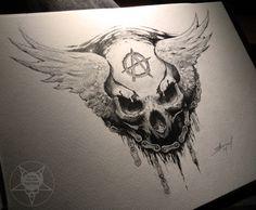 skull logo by AndreySkull.deviantart.com on @deviantART