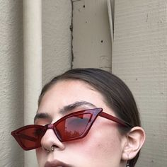 ece1ca25409d Gorgeous lucite clear transparent sunnies 🌹 Brand new never - Depop Cool  Glasses
