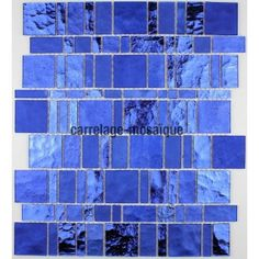 mosaique nacre carrelage REDONDO BLEU | Salle de bains | Pinterest