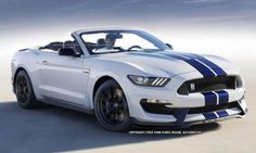 2016 Ford Mustang Shelby GT350 Convertible RENDERING
