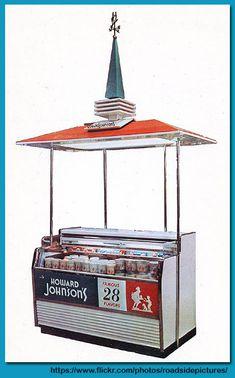 Howard Johnsons Ice Cream Display 1960s