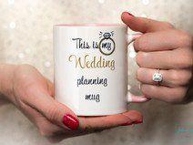"""Wedding planning Mug"" Kaffee Tasse Hochzeit Ring Beste Trauzeugin der Welt | Braut & Trauzeugin  http://de.dawanda.com/shop/JohannaLanger Hochzeit Braut Trauzeugin Trauzeuge Wedding Mug Bridesmaid Maid of Honor"