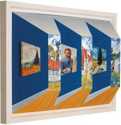 Van Gogh Gallery, by John Wilson #art #3D