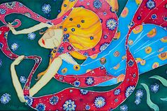 Painting on silk  https://www.geradovana.lt/lt/tapybos_ant_silko_pamoka_gera_dovana.aspx?CtgID=9