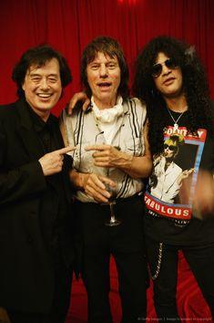 Jimmy Page,Jeff Beck and Slash