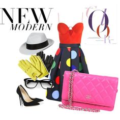 New Fifty by grazia-mirello on Polyvore featuring polyvore, fashion, style, Zimmermann, Jimmy Choo, Chanel and Banana Republic