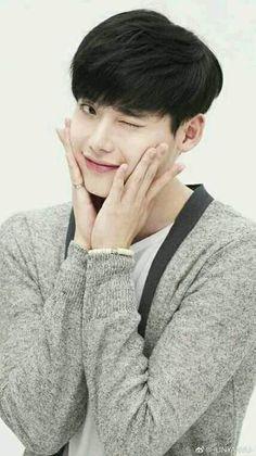 """ You said ""Isn't it a little big"" Jongsuk… Lee Jong Suk Cute, Lee Jung Suk, Lee Jong Hyun, Asian Actors, Korean Actors, Korean Actresses, Lee Jong Suk Wallpaper, Kang Chul, Cn Blue"