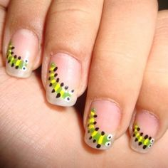 Silly Monsters Nail Art Creative Fashion Pinterest Ongles And