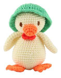 Crochet Toys - Mr Duck
