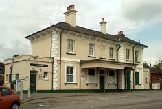 Woolston Railway Station (WLS) in Southampton, Hampshire
