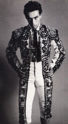 Ole torero!   Beautiful pieces by Christian Lacroix