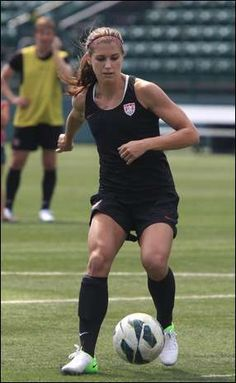 Alex Morgan. (Annette Lein/Rochester Democrat and Chronicle)