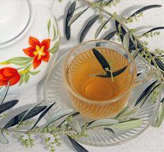 mucize iksirler: yüksek tansiyonu düşürmek için zeytin yaprağı çayı...