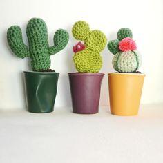 Tutoriel cactus au crochet