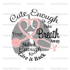 Cute Enough to take your Breath away svg Respiratory Therapist svg Respiratory Specialist svg Lungs svg Stethoscope svg Breath in svg - Etsy - Cap Design People Who Help Us, Medical Careers, Therapy Quotes, Respiratory Therapy, Breathe, Organic Gardening, Anchor Monogram, Grad Cap, Etsy