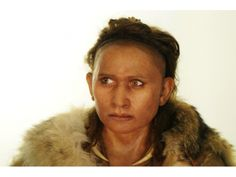 Homo Sapiens par Elisabeth DAYNES- A forensic reconstruction of a woman who lived 47,000 to 17,000 years ago at Abri-Pataud, France