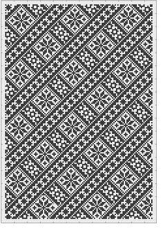 Beading _ Pattern - Motif / Earrings / Band ___ Square Sttich or Bead Loomwork ___ Cross Stitch Hoop, Cross Stitch Borders, Cross Stitch Designs, Cross Stitching, Folk Embroidery, Cross Stitch Embroidery, Embroidery Patterns, Knitting Stitches, Knitting Patterns
