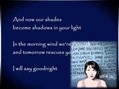 Virginia Moon by Foo Fighters ft. Norah Jones ( with lyrics )