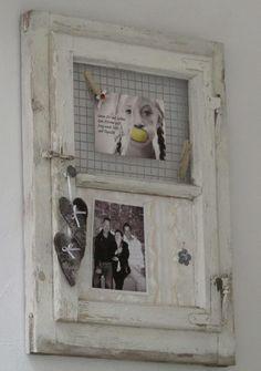 Shabby Chic & Co.: Das alte Fenster - neu dekoriert...