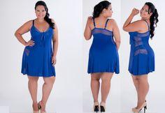 Alem de você compras as mais belas peças em moda intima Plus Size compras acima de R$ 199,00 frete grátis para todo brasil e a segurança da entrega do pagseguro.  www.casadalinggerie.com.br