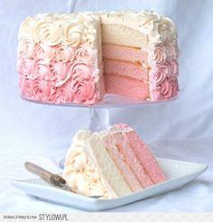 ombre wedding   25 Ombre & Ruffle Wedding Cake Wonders   Confetti Daydreams