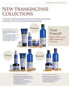 NYR Organic US - Deluxe Plus Frankincense Collection Organic Beauty, Organic Skin Care, Natural Skin Care, Neals Yard Remedies, London Brands, Cleanser And Toner, Skincare, Collections, Age