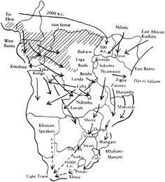 Bantu Migration Timeline