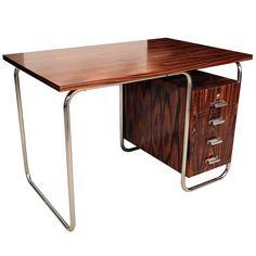 rosewood desk - Jindřich Halabala - 1925