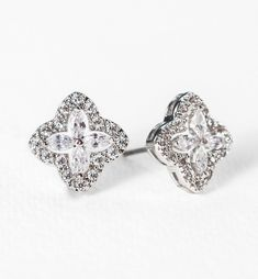 c737c6f150e4 18 Best Clip-On Wedding Bridal Earrings images in 2019