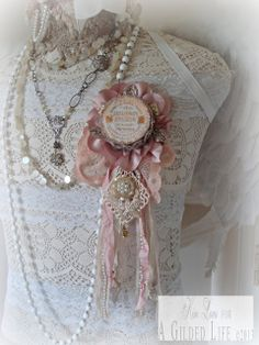 French Parade Ribbon by Kimberly Laws for A Gilded Life.