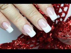 Como hacer uñas acrilicas en casa - How to make acrylic nails at home - YouTube