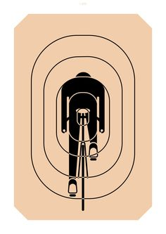100copies Design #8 - Aim For Glory. Available at www.100copies.net $45 USD #100copies #bicycleart #poster #print #bikeart #fixie #fixedgear #minimal #graphic #limitededition #velo #art #singlespeed #bike #bicycle #cycling #illustration #cycle #roadbike #screenprint #singapore #fixiegram #beautiful #artoftheday #artsy #aim