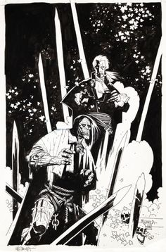 Frankenstein & Dracula by Mike Mignola
