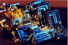 Crystal of Bismuth - Closeup (Macro) Image by Bill A, via Flickr
