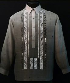 Monochromatic Black Barong Tagalog - Barongs R us Barong Tagalog, Filipiniana Dress, Line Shopping, Suit Jacket, Fashion Outfits, Suits, Stylish, Clothes, Black