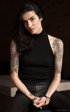 Ink & Skin, tattoo story, half sleeve tattoos / Garance Doré