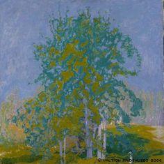 Decorative Landscape, Ellen Thesleff, 1910. Finland.
