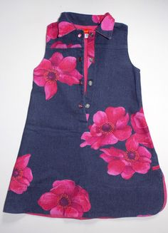 À vendre sur #vintedfrance ! http://www.vinted.fr/mode-enfants/jupes/24660290-robe-jean-imprime-5-ans