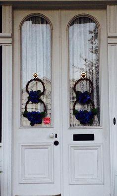 Aberdeen, Ms. Front doors of Gregg-Hamilton House, circa 1850.