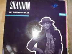 Shannon Let The Music Play Extended   YOU'VE got to hear this....probably one of the FIRST breakbeat/free style songs I can remember.  This is from 1984.  Yep, going WAY back! I remember driving around playing this version REALLY loud!