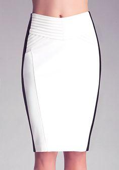 bebe Kirstie Pencil Skirt