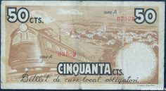 Spain - 1937. - GC - billetes