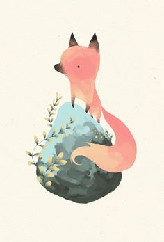 renardo Art Print-Yohan Sacre M. Illustration Mignonne, Art Et Illustration, Art Fox, Art Mignon, Inspiration Art, Art Design, Clipart, Cute Art, Painting & Drawing