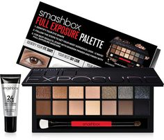 Smashbox Full Exposure Palette #smashbox #eyeshadow #primer