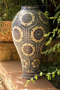 Moroccan Vase at Tamadot Hotel