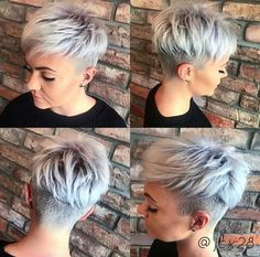 Undercut Pixie hair The post 30 Best Short Pixie Hairstyles 2018 appeared first on Best Pins for Yours - Woman Fashion Pixie Cut Mit Undercut, Short Hair Undercut, Haircut Short, Short Hair With Undercut, Corte Pixie, Pelo Pixie, Long Pixie Hairstyles, Short Hairstyles For Women, Hairstyles 2018