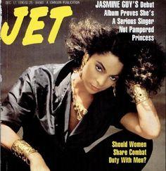 Jasmine Guy covers Jet magazine, December 1990